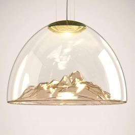 Axolight Mountain View - LED-Hängelampe amber-gold