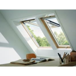 VELUX Dachfenster Klapp-Schwingfenster GPL 3070 Kiefer THERMO MK08, 78 x 140 cm, Kiefer endlackiert