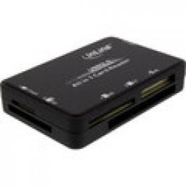 InLine Cardreader, USB 3.0, all in 1, schwarz