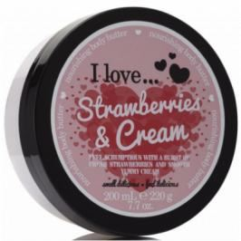 I Love Cosmetics Body Butter Strawberries & Cream 200 ml
