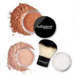 Bellápierre Cosmetics Sunkissed & Defined Bronzing Kit 4 stk