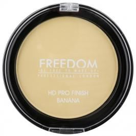 Freedom Makeup HD Pro Finish Pressed Powder Banana 4 g