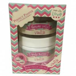 Perfect Pamper Collection Vanilla Body & Shower Gift Set 3 stk